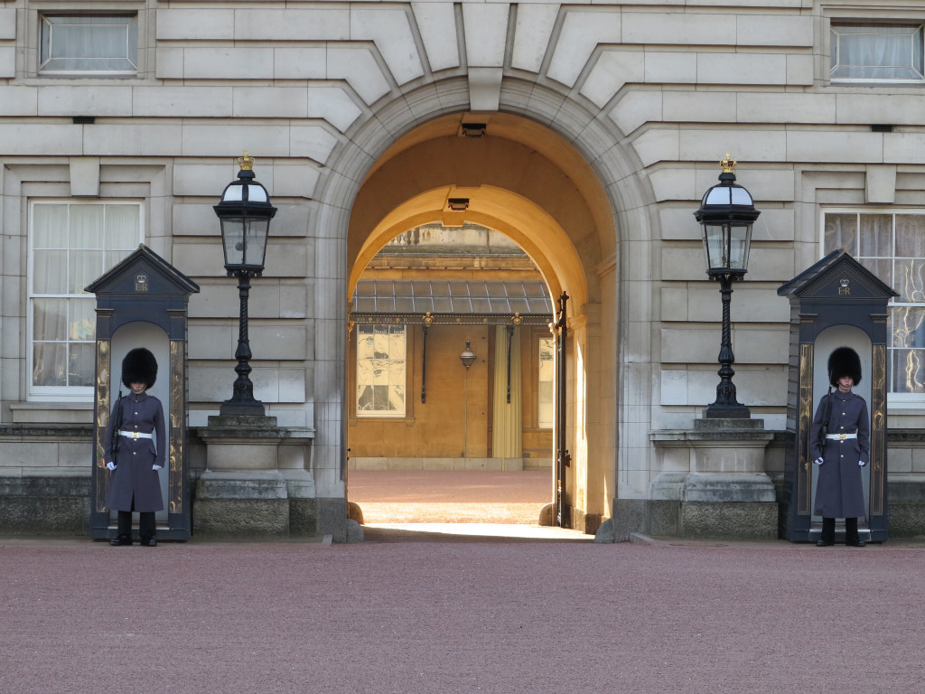 Buckingham Palace Royal Entrance