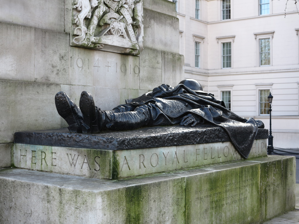The Royal Artillery Memorial in London