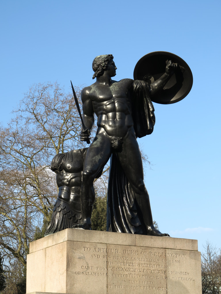 Achilles statue by Richard Westmacott