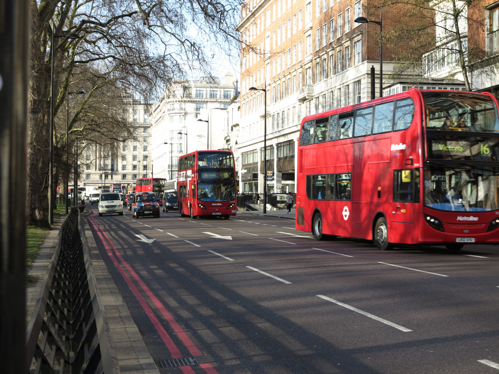 Double Decker Buses in London