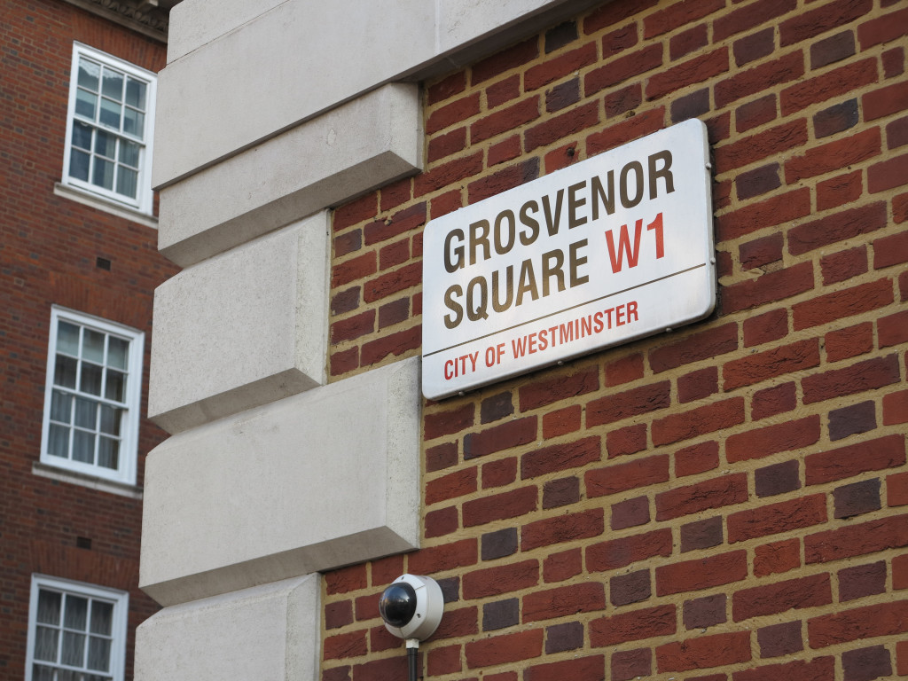 Grosvenor Square Sign