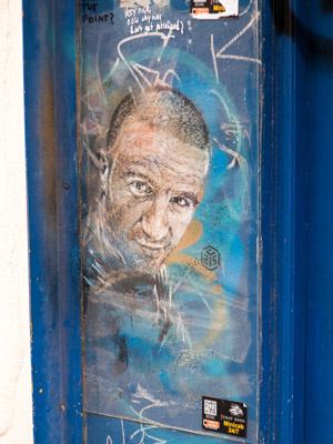 C215 Street Art Piece in East London