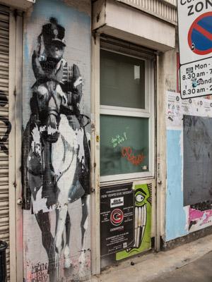Connor Harrington Street Art London, England