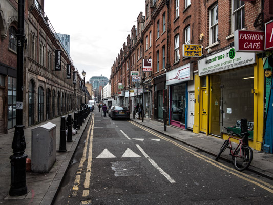 Fashion Street East London.GCU London
