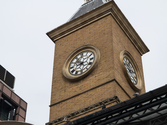 Liverpool Street Station Clock Tower. London England