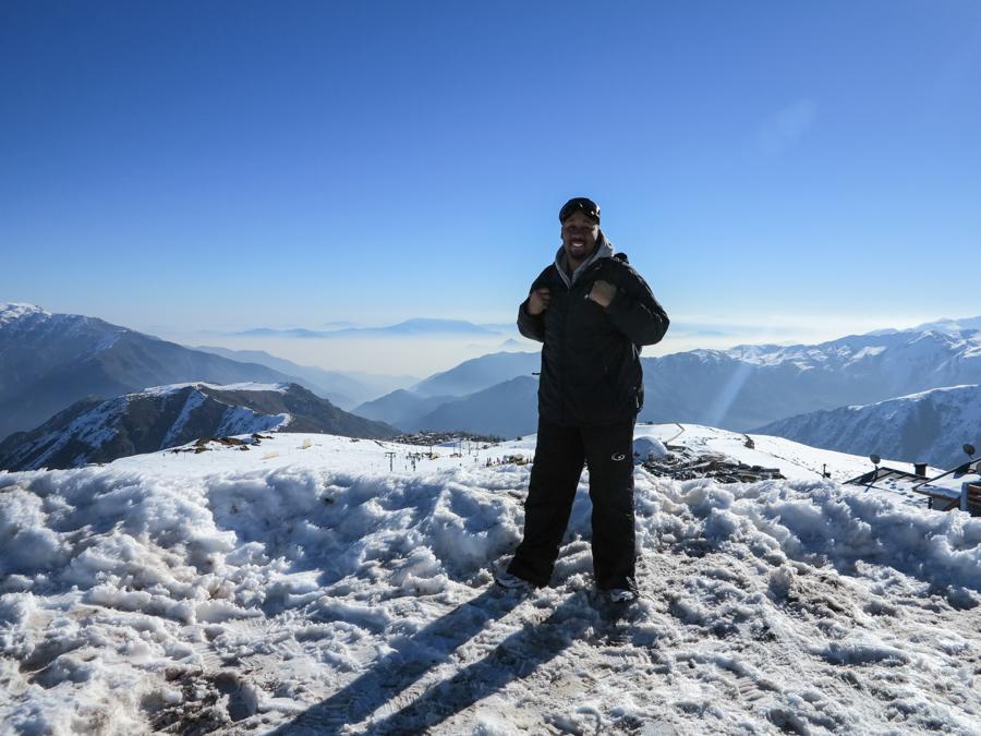 Me on Snow Bank