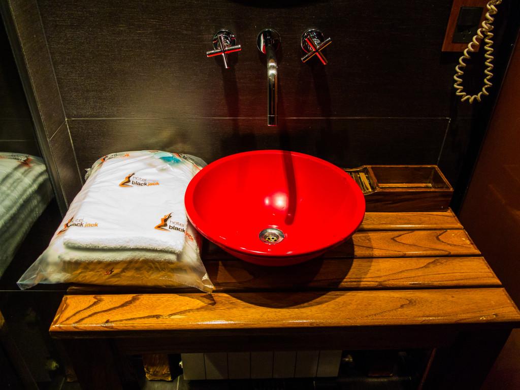 Hotel Blackjack Zen Suite Sanitized and Sealed towels