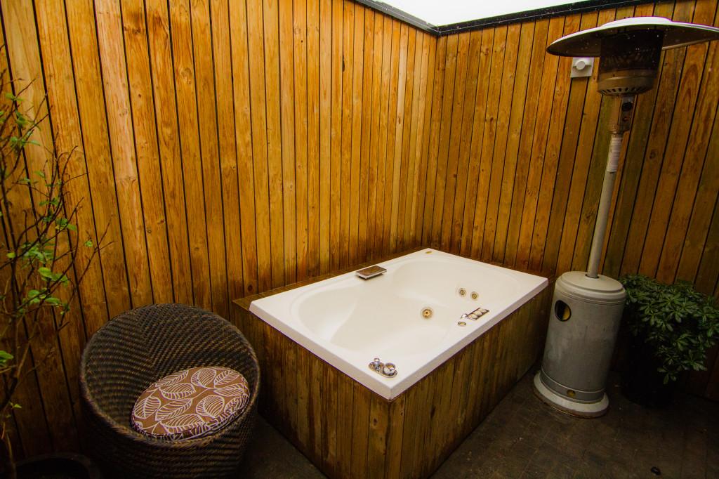 The Aubrey Santiago Hot Tub