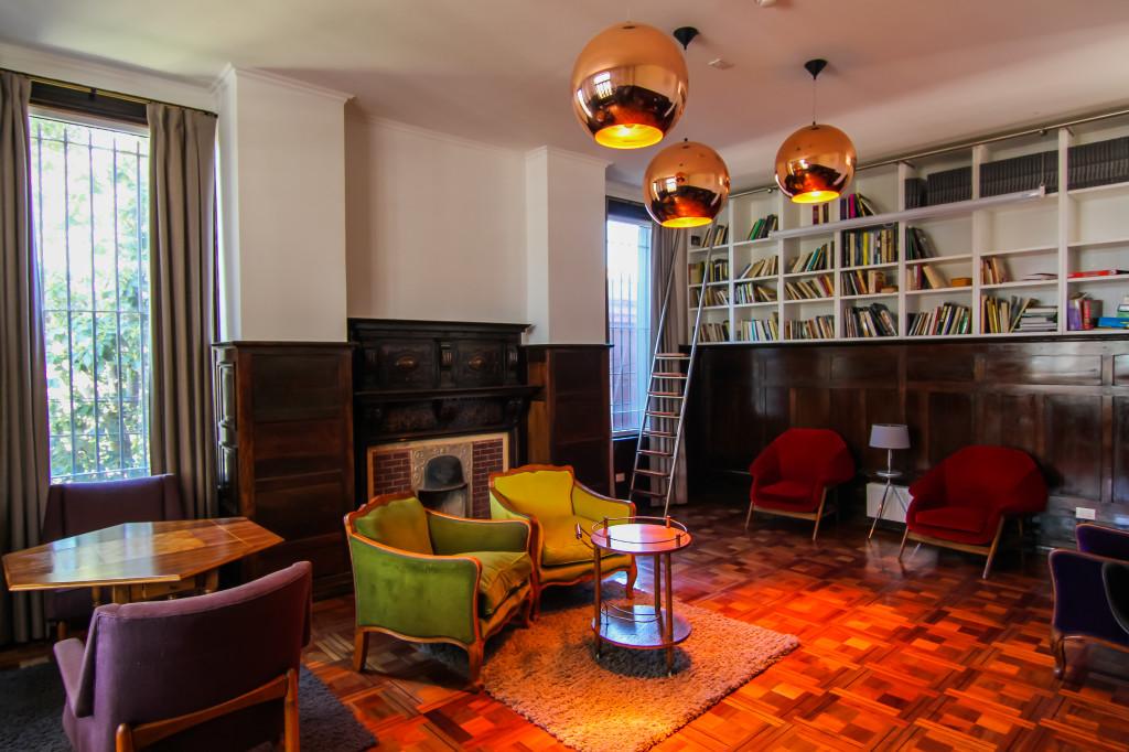 Palacio Astoreca,Valparaiso Chile. Library