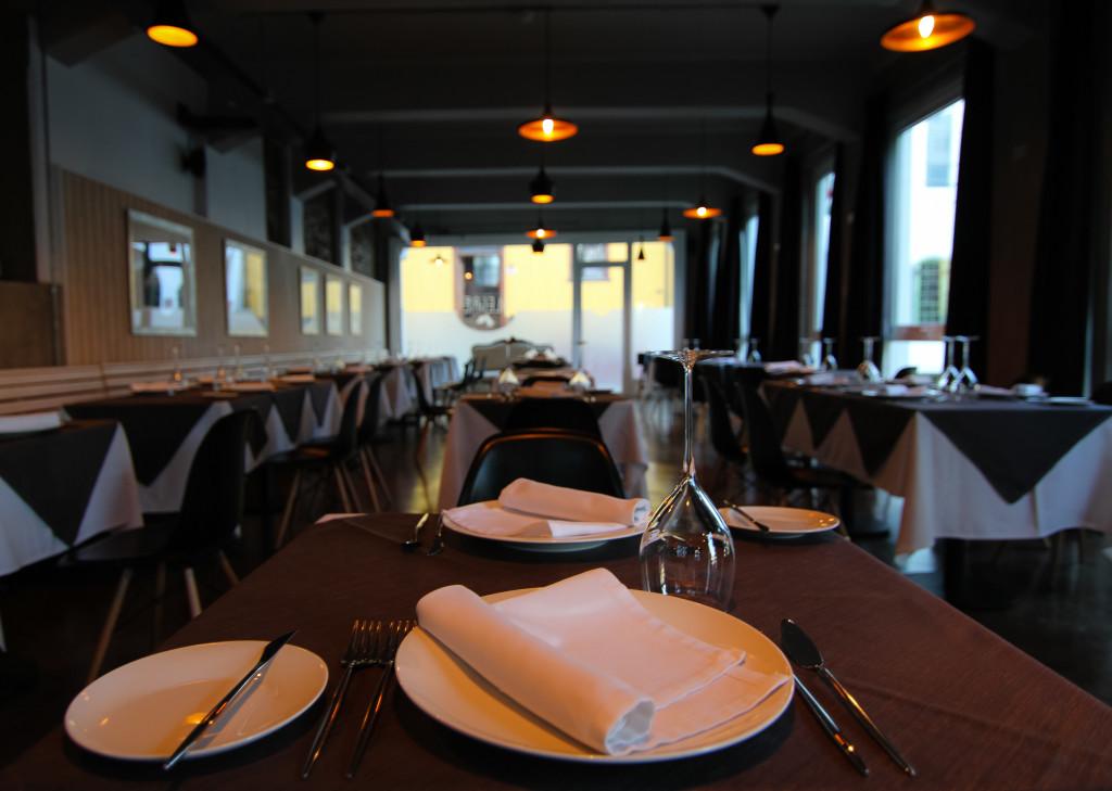 Palacio Astoreca,Valparaiso Chile. Restaurant Alegre before opening.