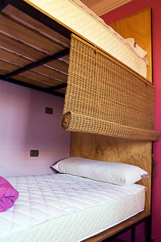 Princesa Insolente Hostel Bed Empty