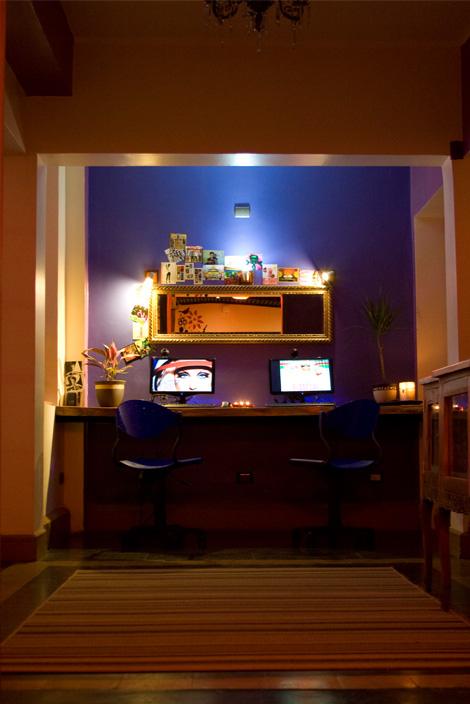 Princesa Insolente Hostel Computer Area
