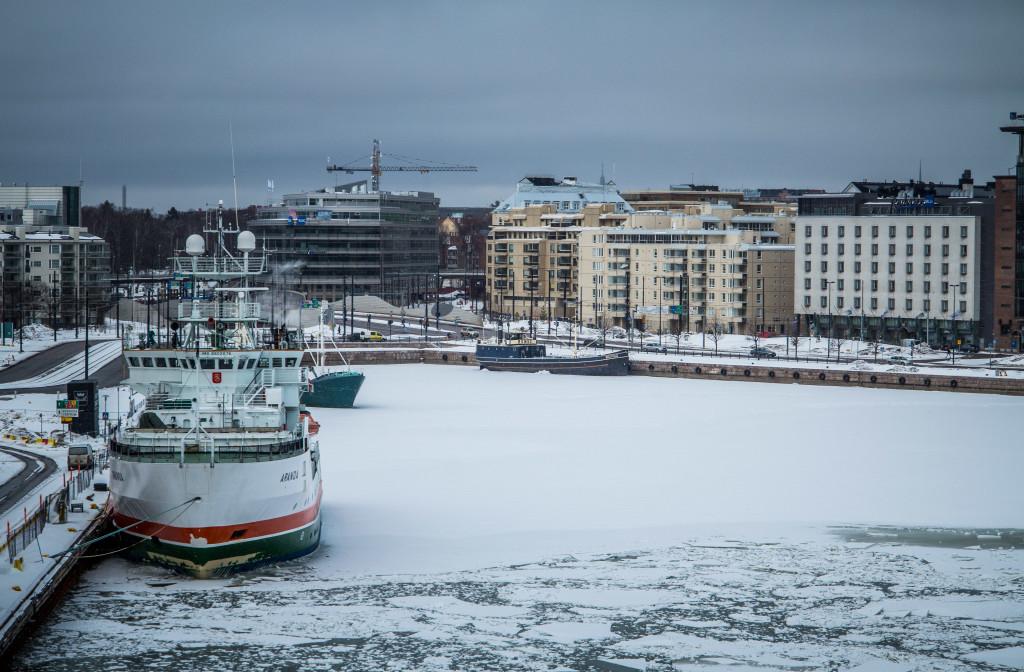 Helsinki Frozen Dock