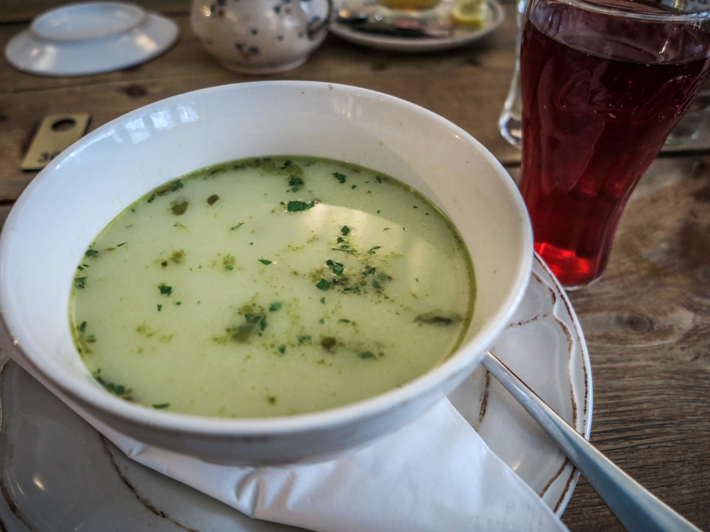 Polish soup and drink.