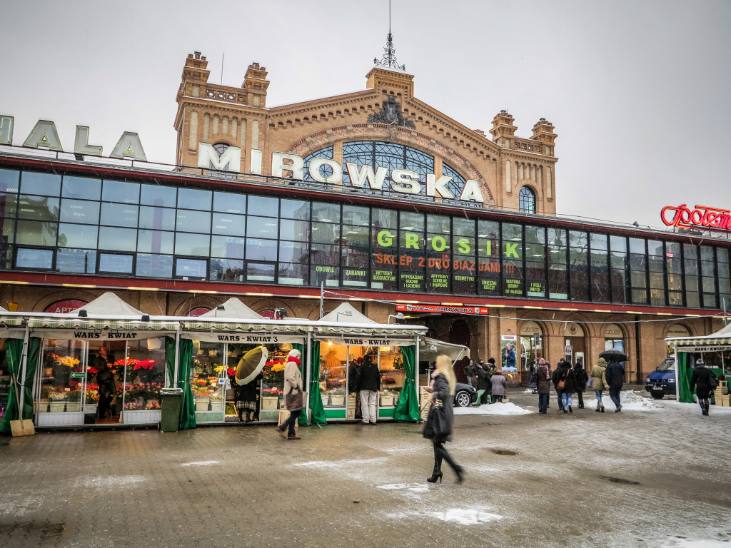 Hala Mirowska Market in Warsaw