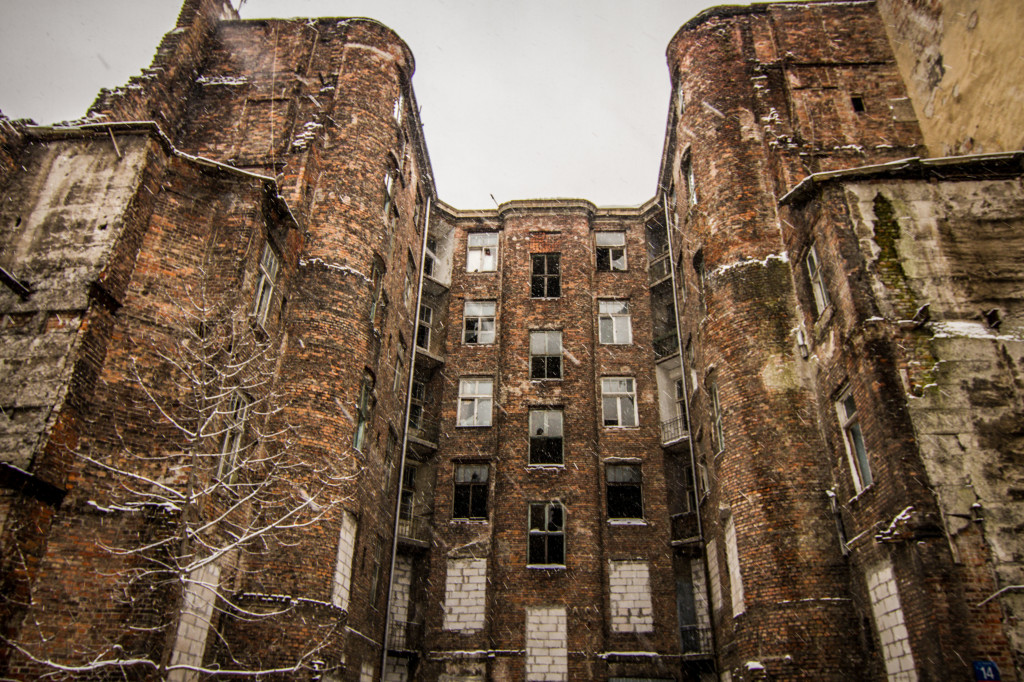 Apartment Ruins in Warsaw Jewish Ghetto