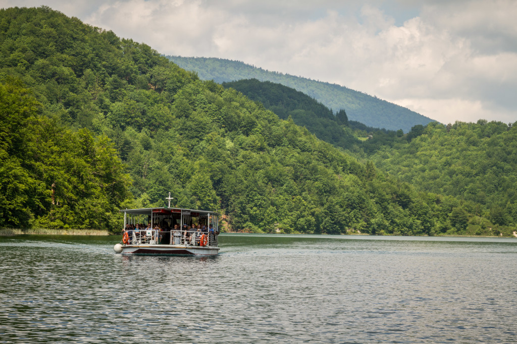 Ferry boat at Plitvice Lakes National Park