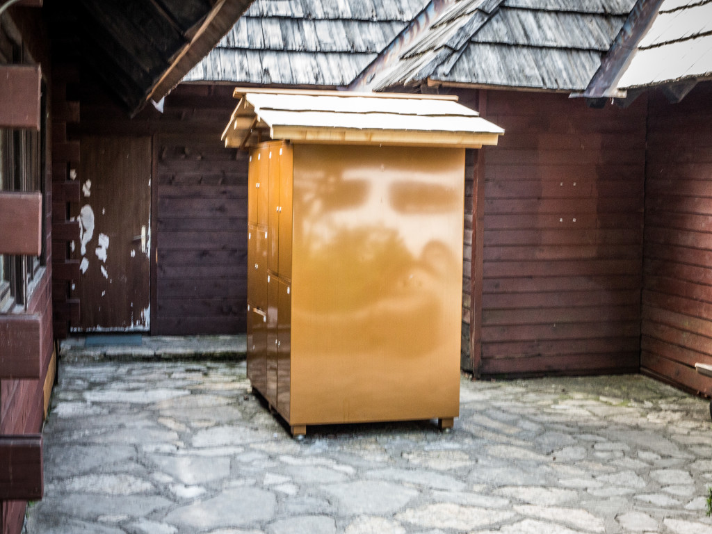 Luggage storage at Plitvice Lakes National Park