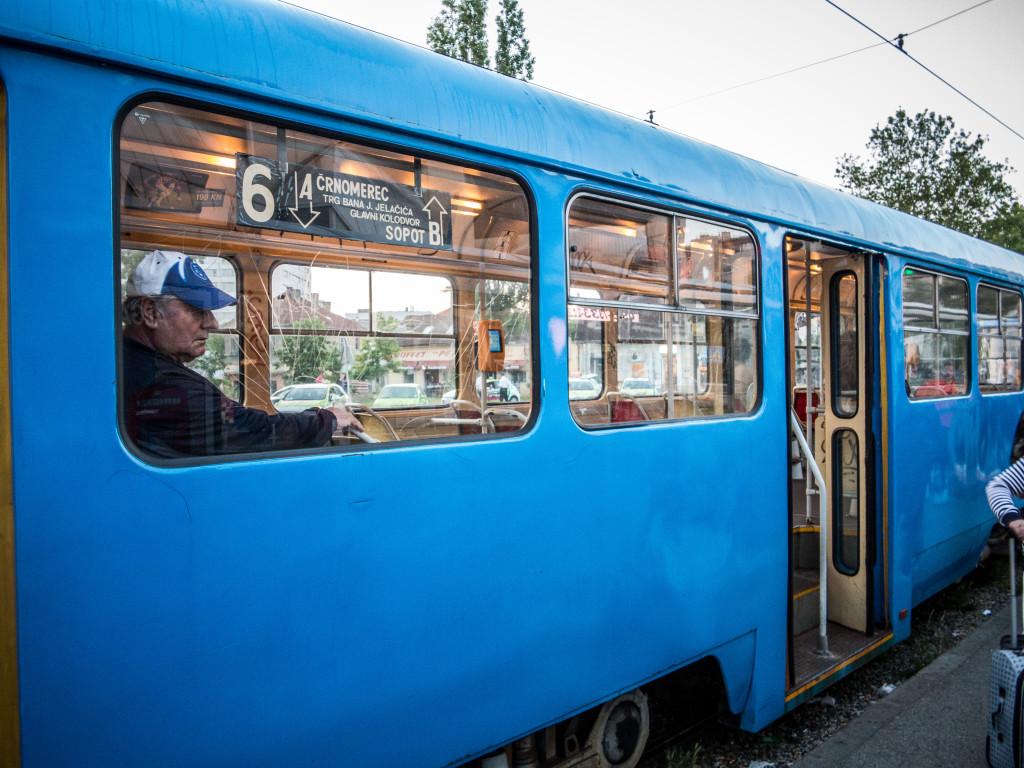 Number 6 Tram Zagreb