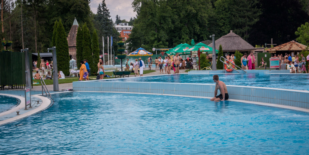 Cave Bathe in Miskolctapolca outdoor pool