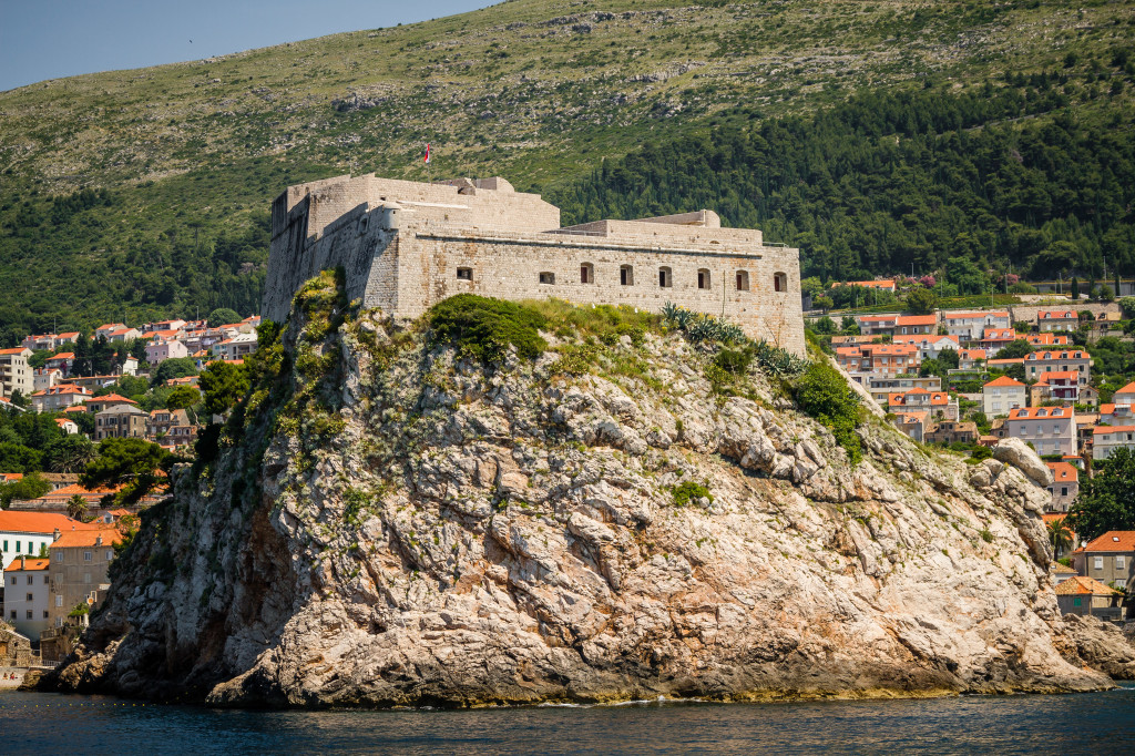 Fort Lovrijenac aka Red Keep from Game of Thrones