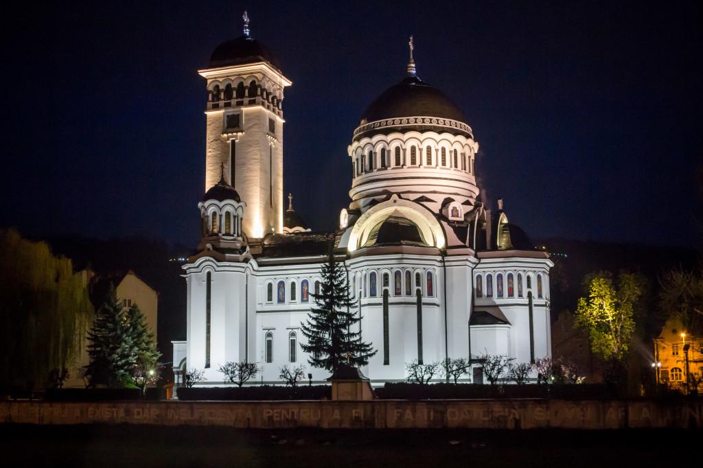 Holy Trinity Church in Sighisoara, Romania