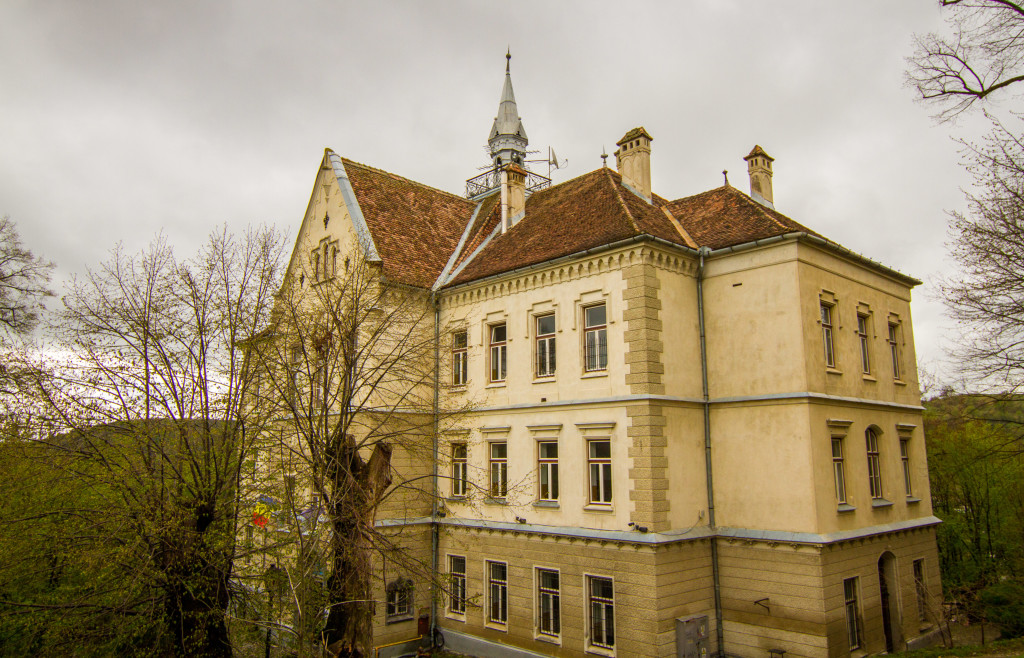 School on the Hill in Sighisoara, Romania