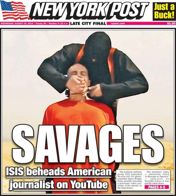 Protected: Why I support the NYPost James Foley Cover