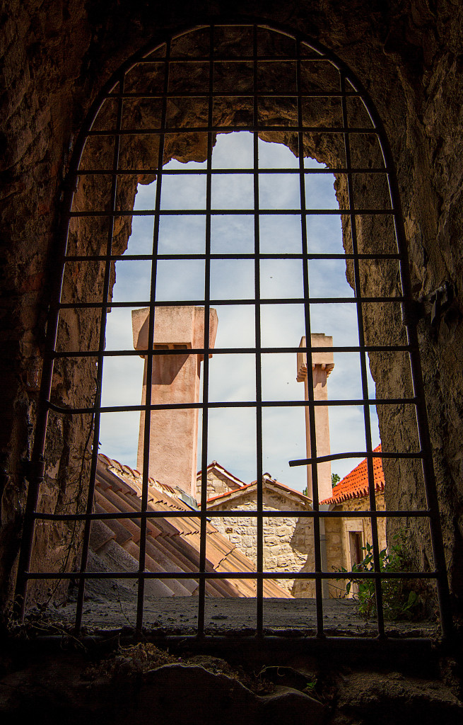 View from Vestibule Tower in Split Croatia