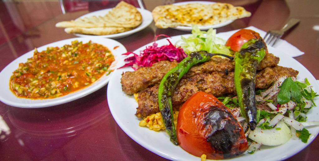 Adana Kebab in Istanbul Turkey
