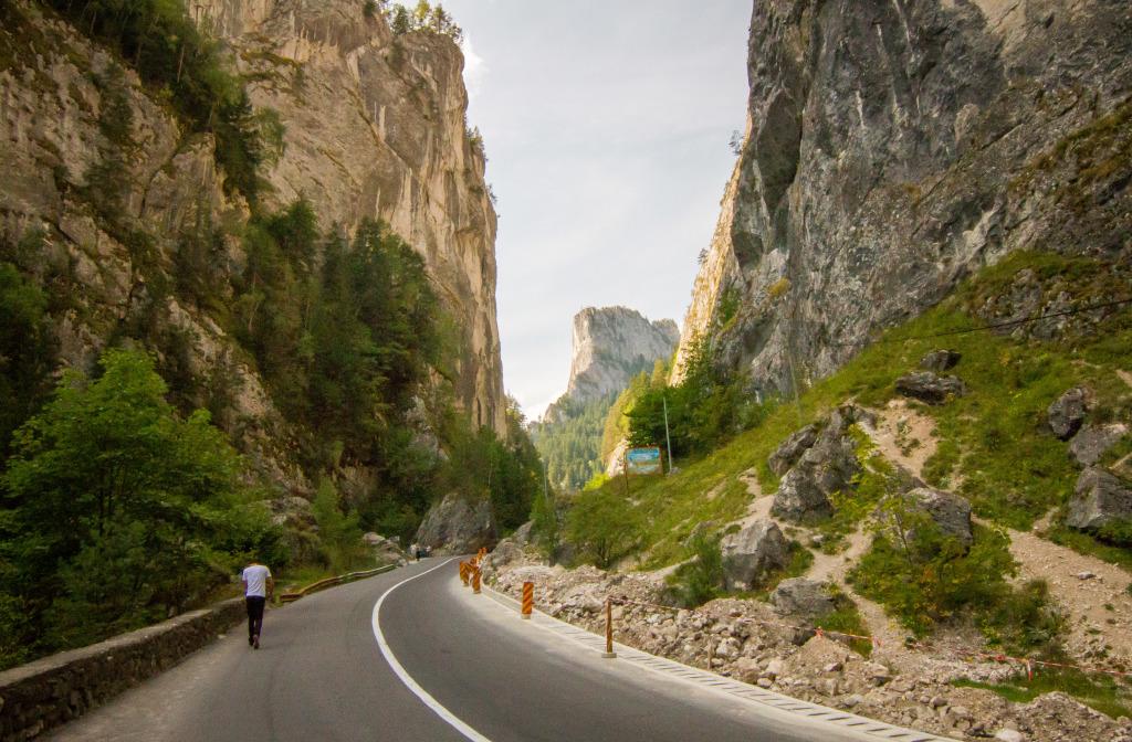 Bicaz Canyon Road