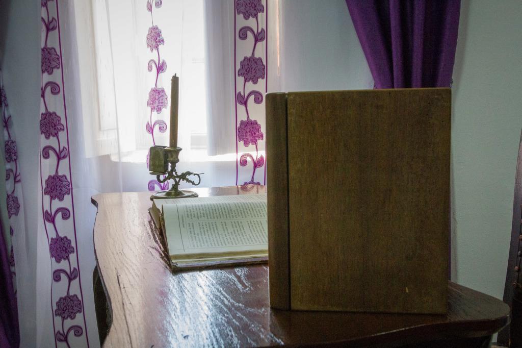 Desk in  Mihail Sadoveanu Memorial House Romania