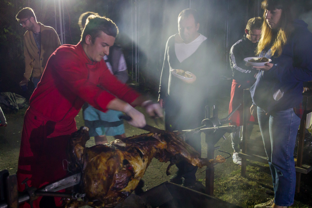 #priNeamt Bloggers Mutton on a Spit