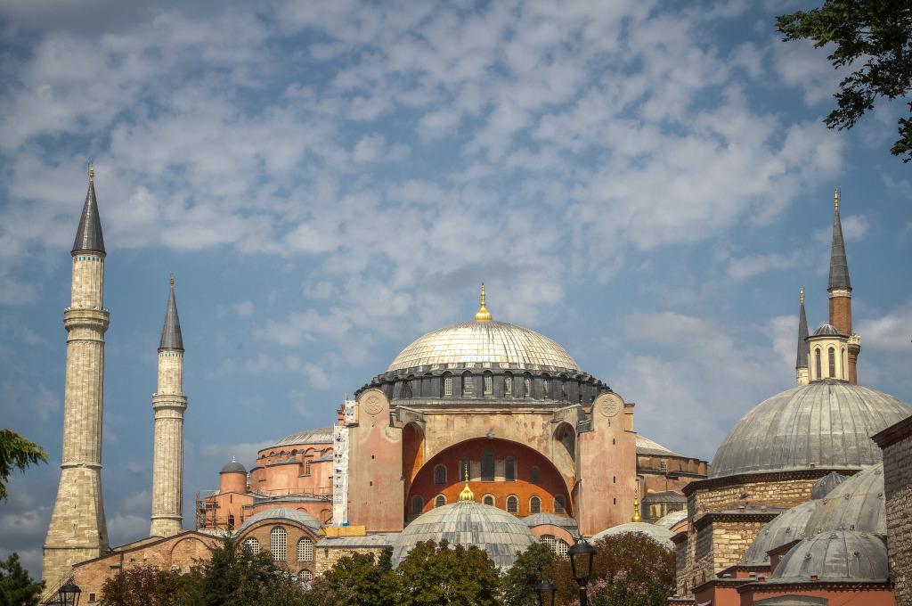 Hagia Sofia Aya Sofya in Istanbul