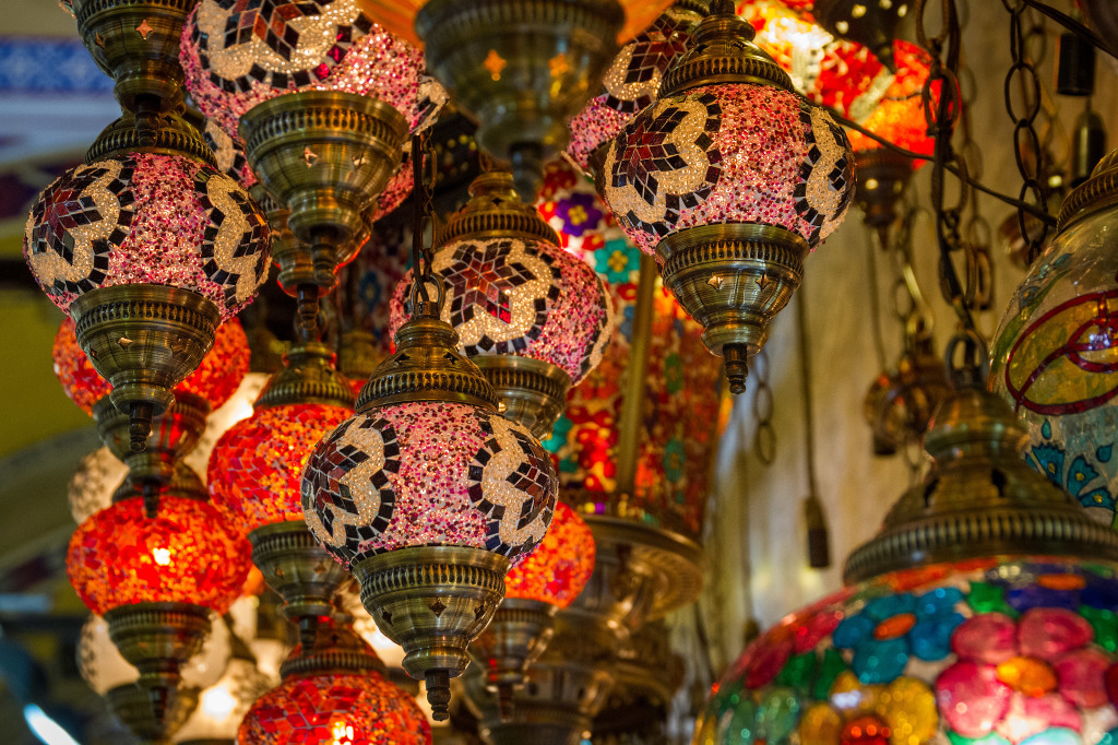 Lanterns at Grand Bazaar