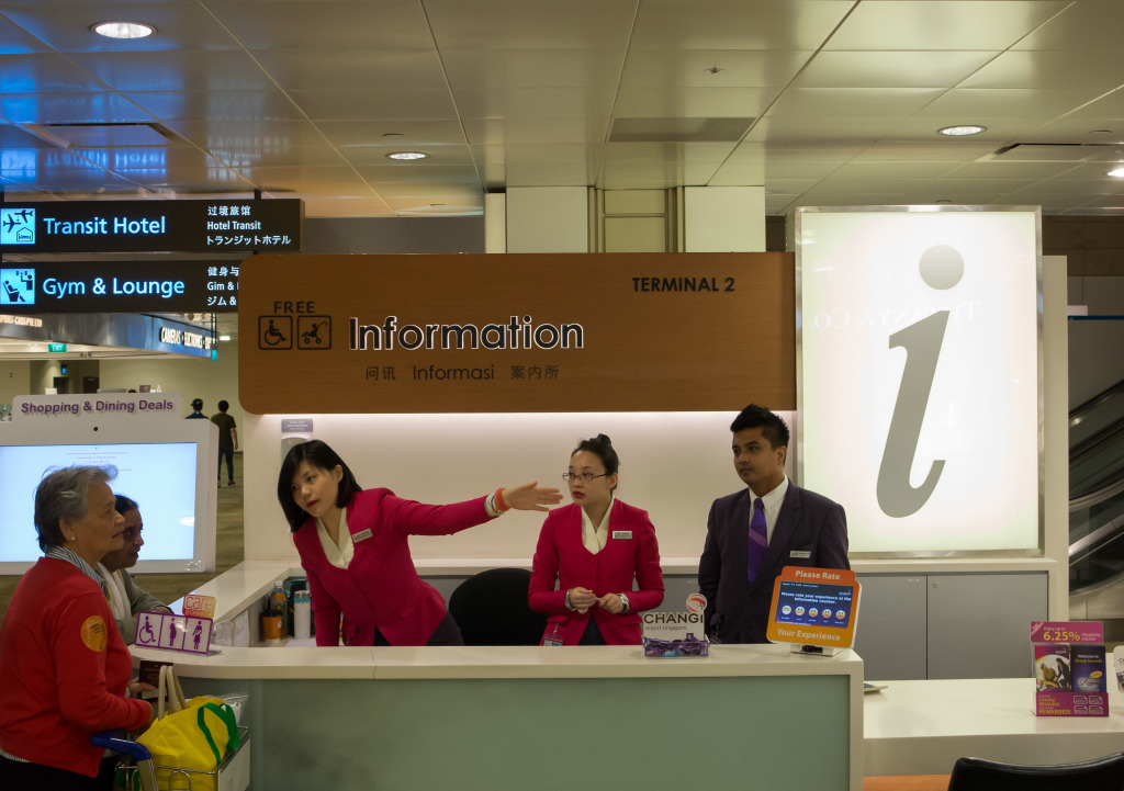 Outstanding Customer Service at Changi Airport Singapore