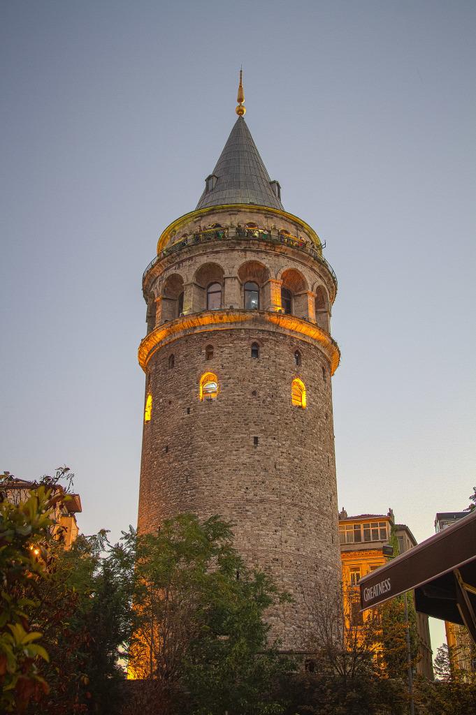 beyoglu galata tower in Istanbul