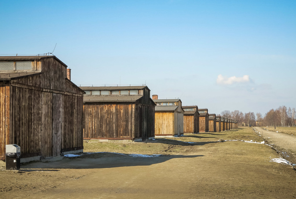 Auschwitz-Birkenau Concentration Camp Prisoner Barracks