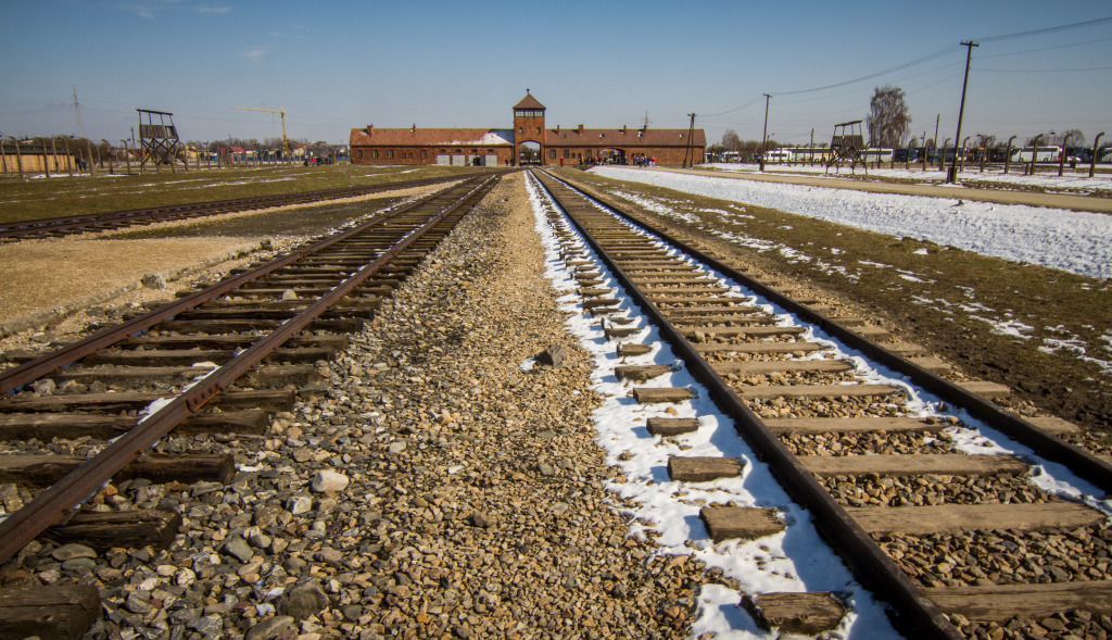 Auschwitz-Birkenau Train Yard. The Game of Death
