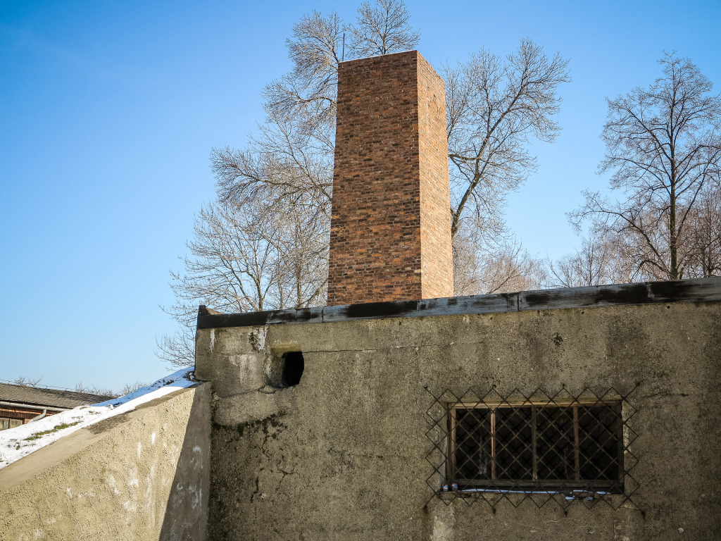 Furnace Chimney at Auschwitz