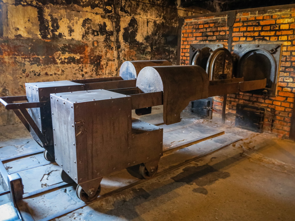 Furnace at Auschwitz