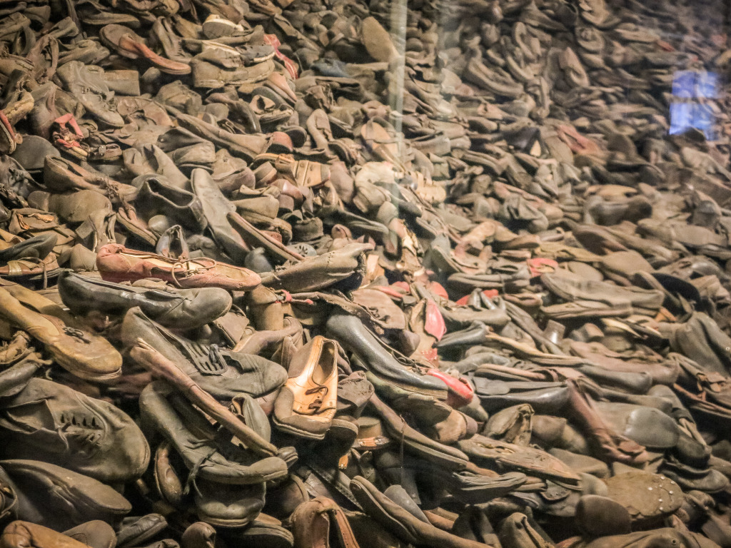 Shoe Display at Auschwitz