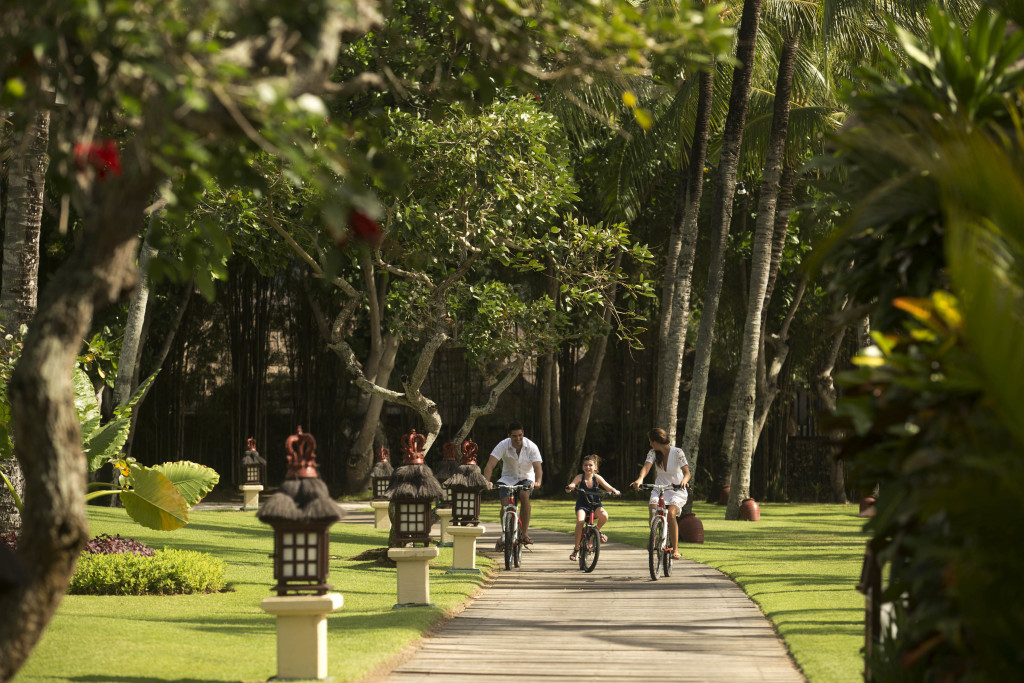 Intercontinental Bali Resort Leisure Activity Bicycling