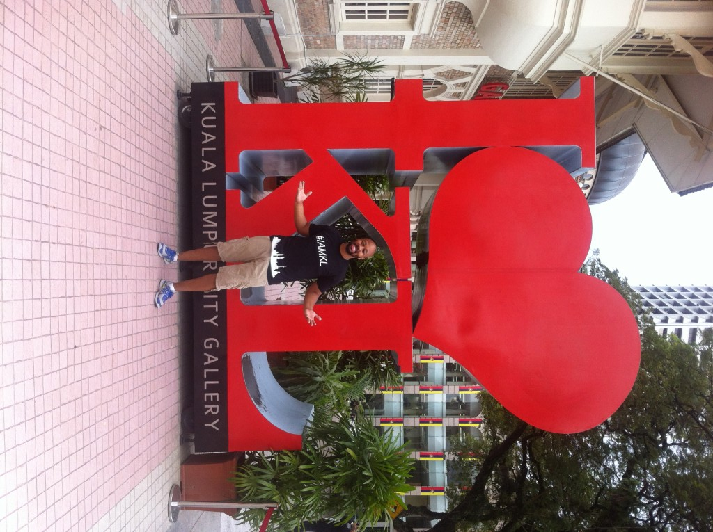 I Heart KL Sculpture