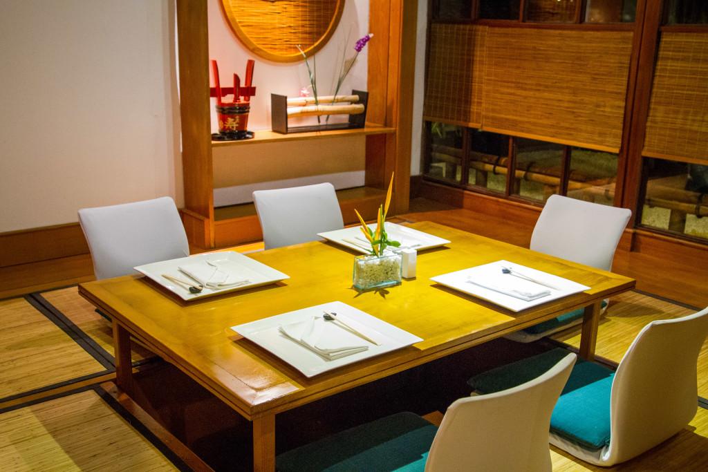Japanese Restaurant at Melia Bali
