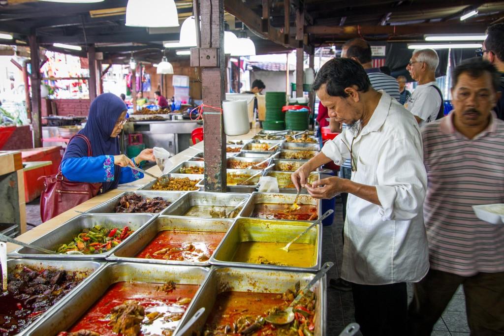 Malay Food Street in Kuala Lumpur