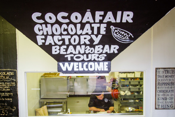CocoaFair Chocolate Factory at Old Biscuit Mill