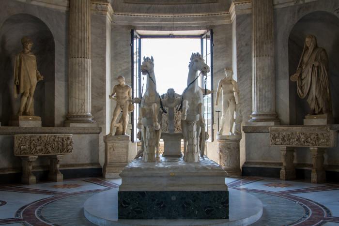 Biga by Francesco Antonio Franzoni at the Vatican Museum Collection