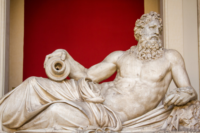 Divinita fluviale (Arno) River God at Vatican Museum