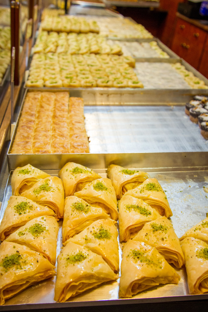 Syrian Pastries at Pastisseria Principe in Barcelona Spain